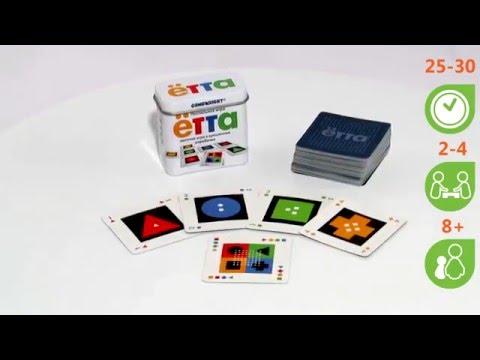 Ётта. Обзор настольной игры от компании Стиль Жизни - Видео на ютубе