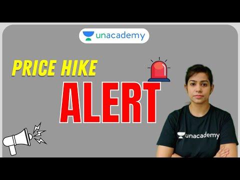 Unacademy Gate Price Hike Alert | Unacademy Subscription | Krati Singh
