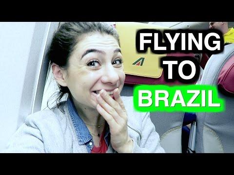 FLYING TO BRAZIL! - TRAVEL VLOG 288 AMSTERDAM & ROME | ENTERPRISEME TV