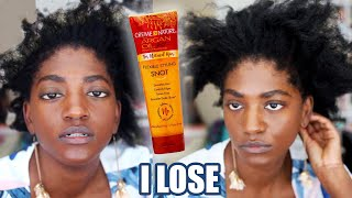 I fought extreme 4c shrinkage...and lost (4c natural hair) | starpuppy vs. shrinkage 9