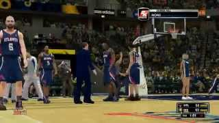 ATLANTA HAWKS AT INDIANA PACERS GAME 2 PLAYOFFS 2014 (NBA2K14) 04.22.14