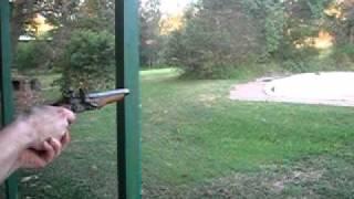 0.316 Cal Flintlock Pistol firing