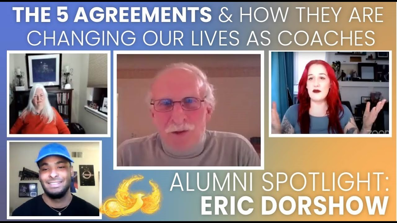 Weekly Recap: Interview with Eric Doroshow, the 5 agreements, & Lunch & Learn