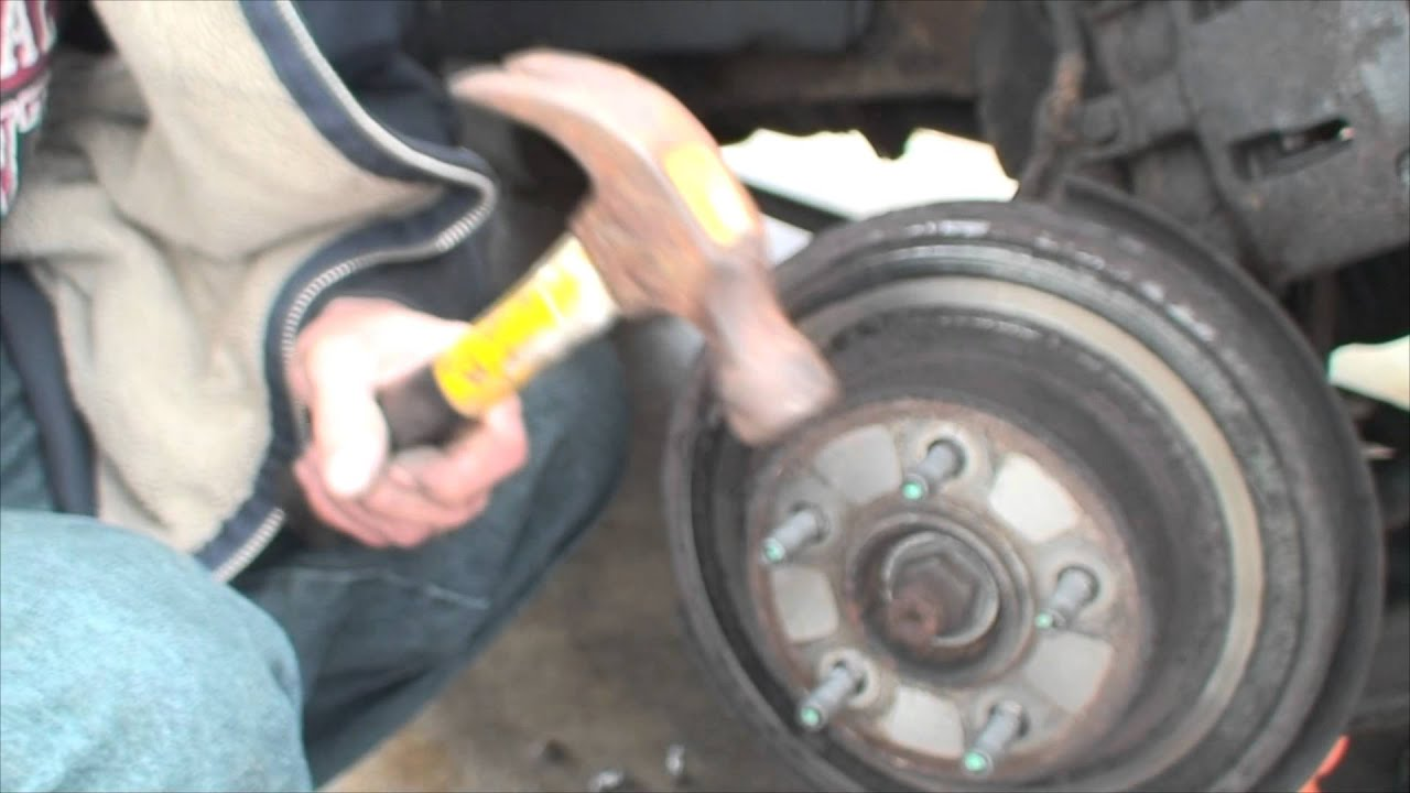 2001 Ford Explorer Front Brake Pads And Rotors Youtube