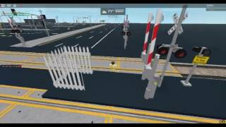 Lance Gaming Short: ROBLOX- Honda Station Railroad Crossing