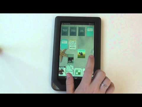 using a nook color a brief introduction youtube