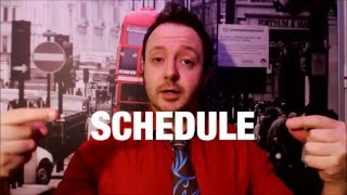 "Laurence Brown teaches Americans how to pronounce the word ""schedul..."