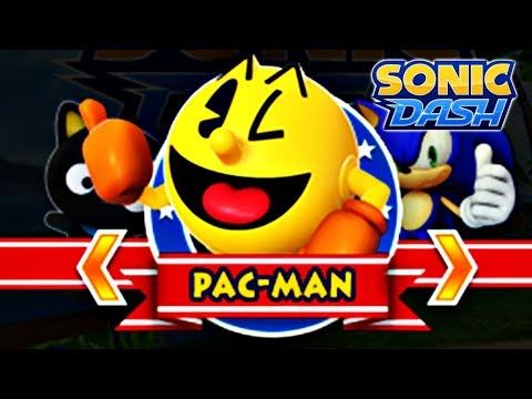 Sonic Dash Event: Pac-Man Gameplay [60fps]