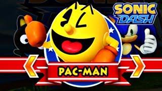 Sonic Dash: Pac-Man Gameplay [60fps]