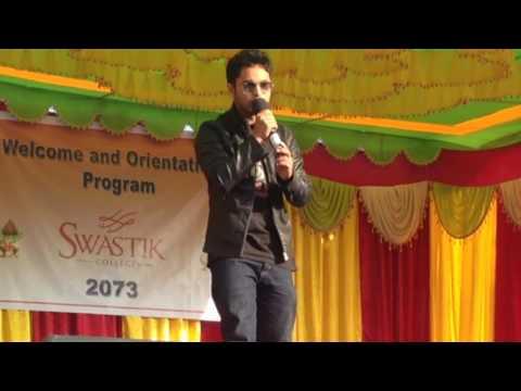 Nepali Singer Singing In Dino, dil mera mujhse hai keh raha audience shocked