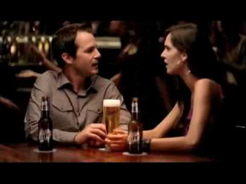 Who is the actress in the miller lite dating commercial