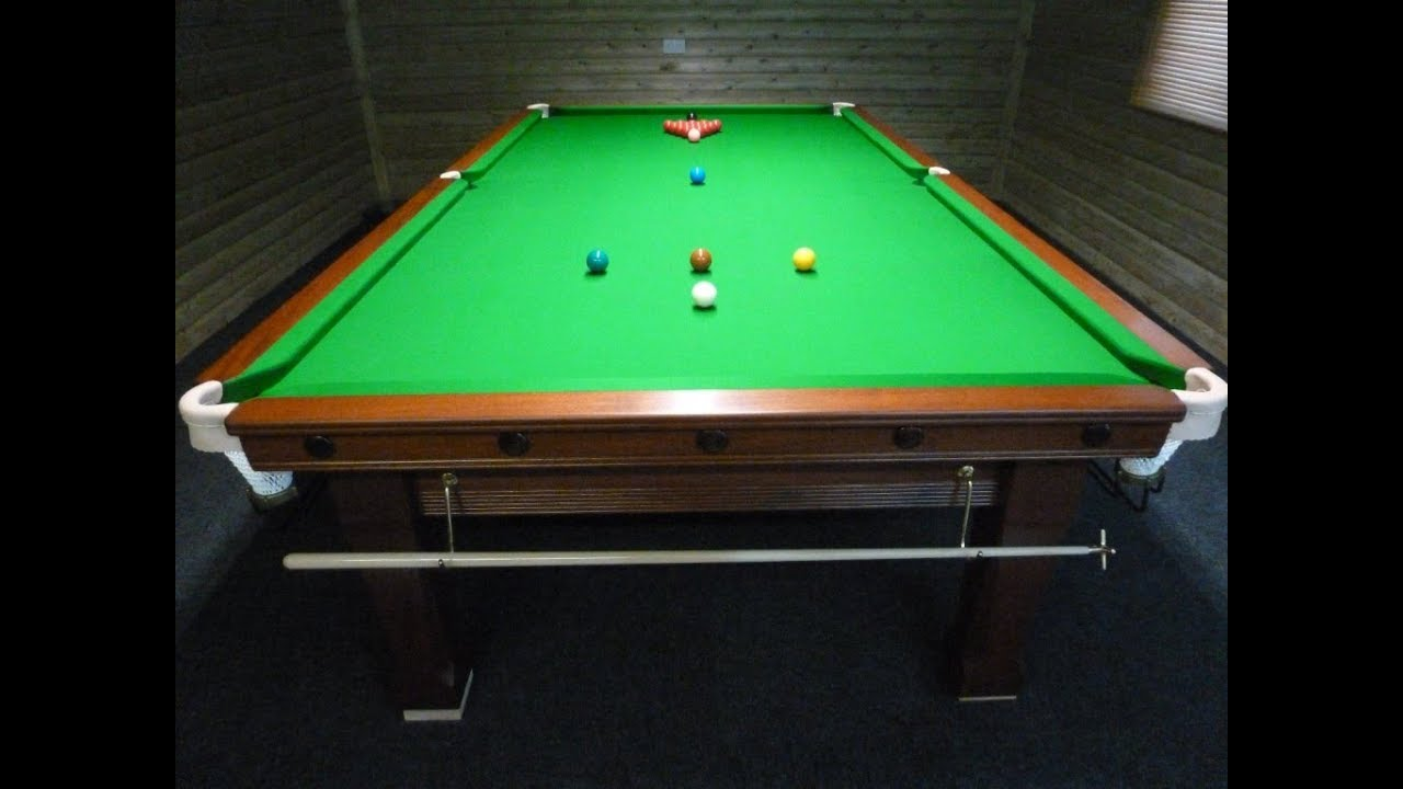 Pool Table Setup >> How To Setup A Snooker Table