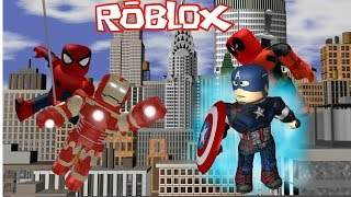 Becoming a hero in Roblox| Marvel & DC Dawn of Heroes