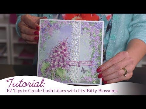 EZ Tips to Create Lush Lilacs with Itty Bitty Blossoms