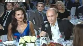 �������� ���� Премьер В.Путин спел на благотворительном концерте. ������