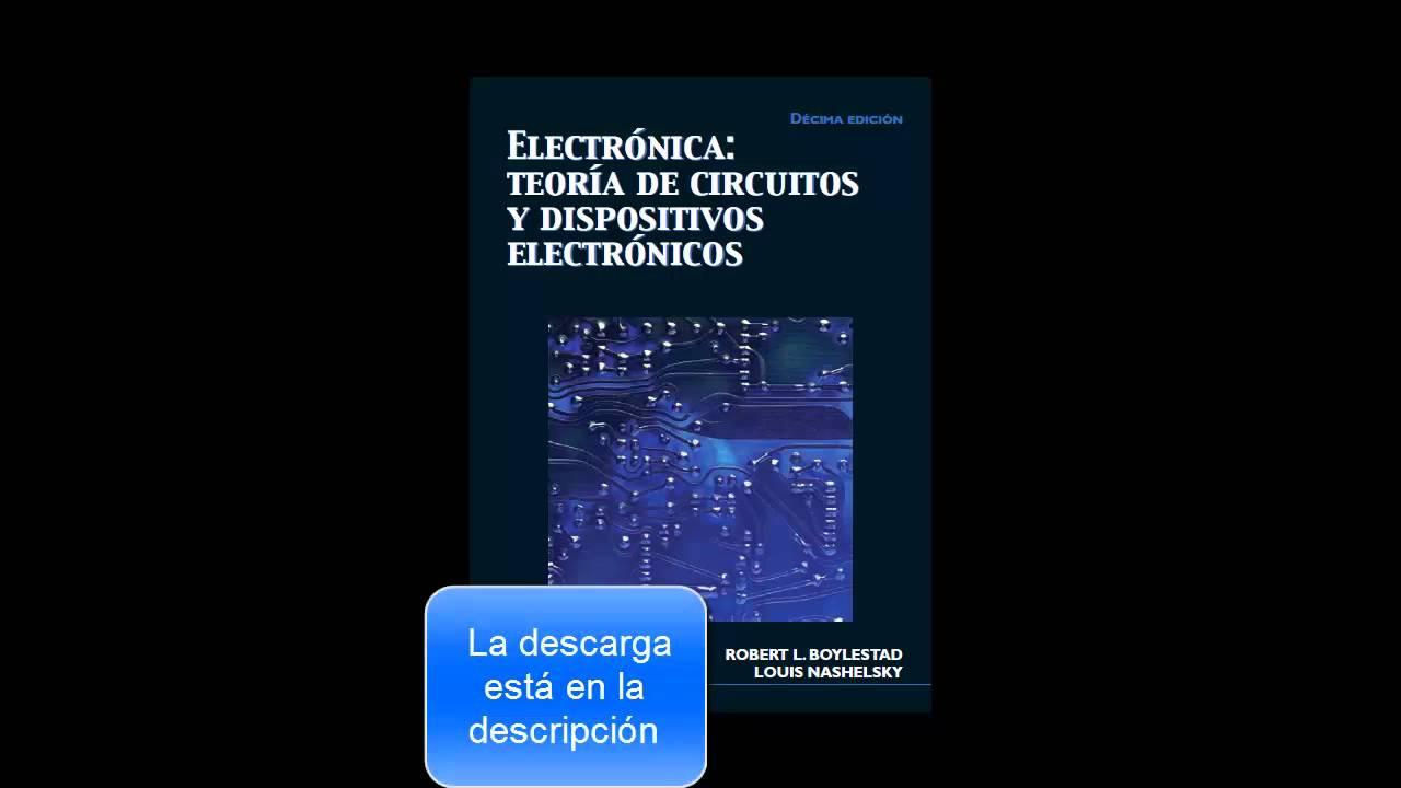 teoria de circuitos y dispositivos electronicos boylestad 10 edicion