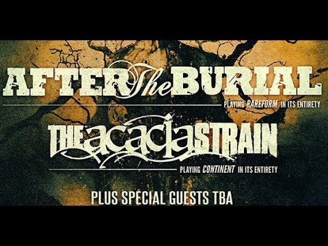 1a836e2c8aab After The Burial and The Acacia Strain are heading out on a North American  tour