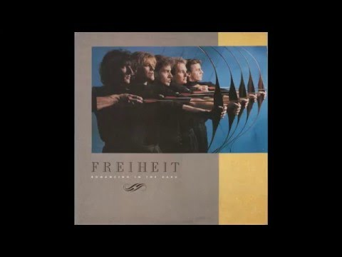"Freiheit – ""Baby It's You"" (UK/Europe CBS) 1987"