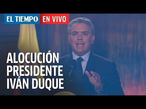 Alocución presidencial de Iván Duque | EL TIEMPO
