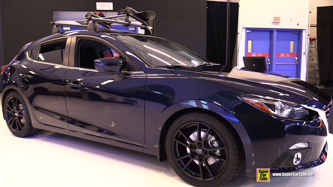 2015 mazda 3 sport gt exterior and interior walkaround 2015 montreal auto show youtube. Black Bedroom Furniture Sets. Home Design Ideas