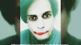 Joker- why so serious? (The dark knight- Heath ledger impression)