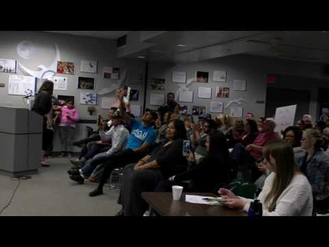 Racism-fueled hate speech at the Ocean View School District meeting