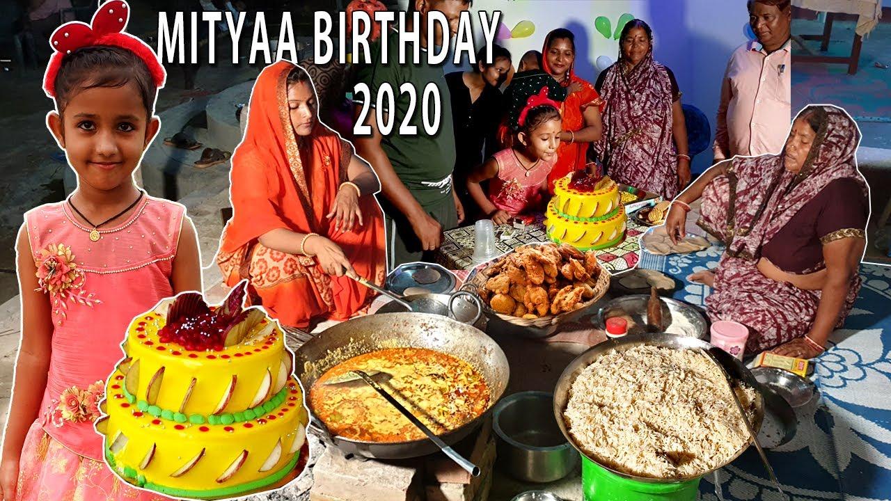 MITYAA BIRTHDAY 2020 Special   मित्या के जन्मदिन पर हमने बनाया ढाबा स्टाइल कढाई पनीर DINNER VLOG