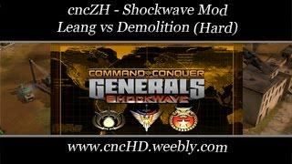 [C&C Zero Hour Shockwave] - Leang vs Demolition (7) - [Hard]