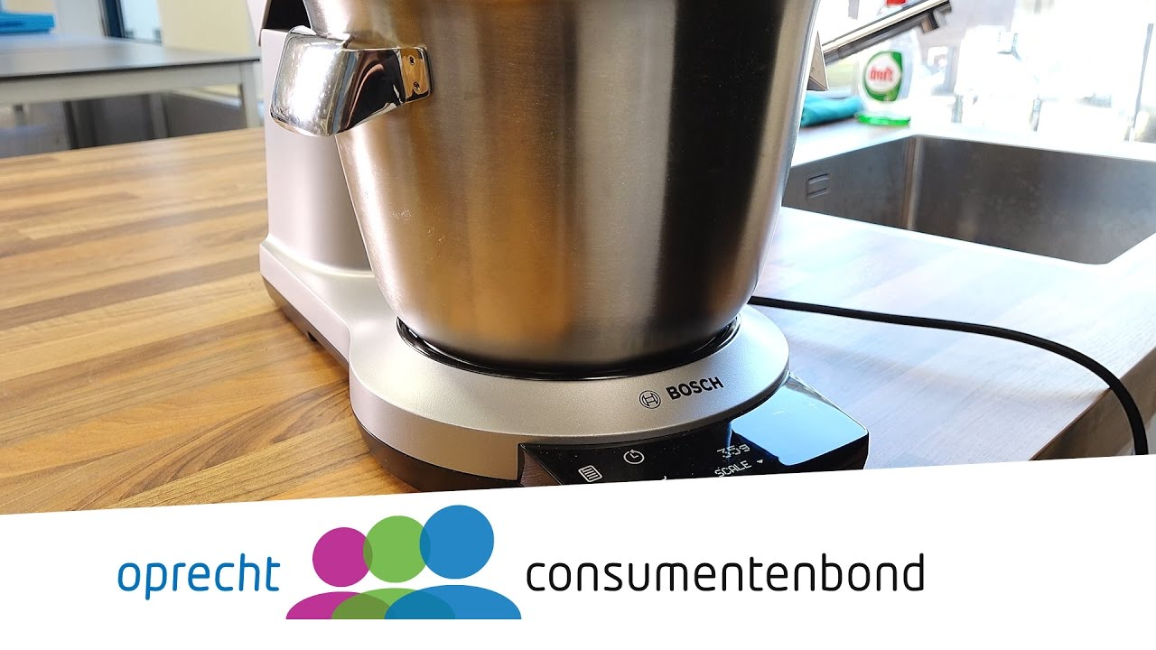Bosch Optimum Keukenmachine Review Consumentenbond Youtube