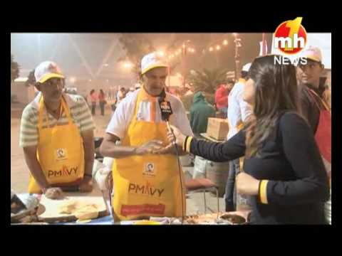 National Street Food Festival at Jawahar Lal Nehru Stadium in Delhi, Part-1