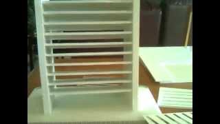 Copic Marker Holder / Storage - Diy Foam Core