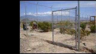 Chain Link Fence Construction For Big Cats