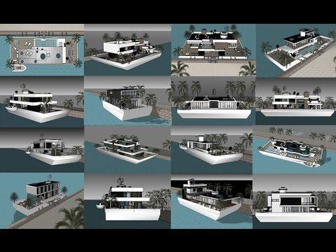Husbåd Danmark Norge Sverige | Houseboat Design Nordic | Stockholm International Boat Show 2018
