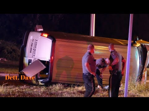 East Windsor: Serious Crash With Rollover And Entrapment. 08/29/18.
