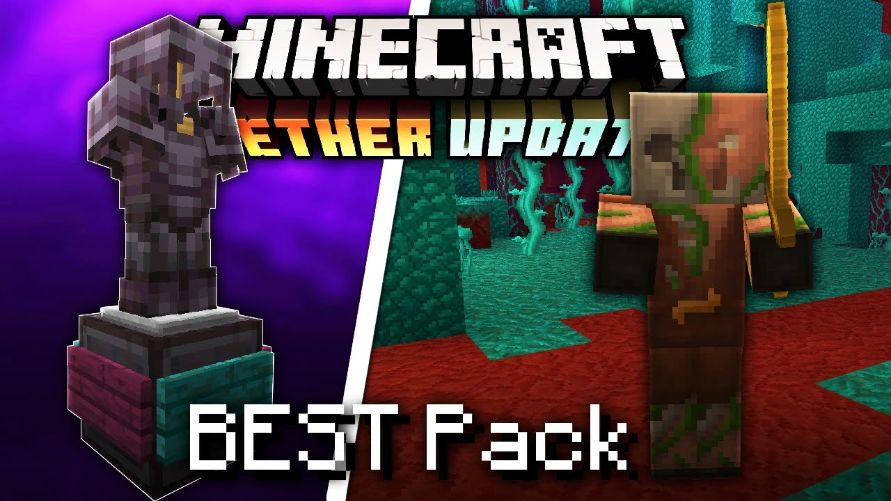 Best 9.96 Texture Pack for Minecraft 9.96 Nether Update l 9.96.9