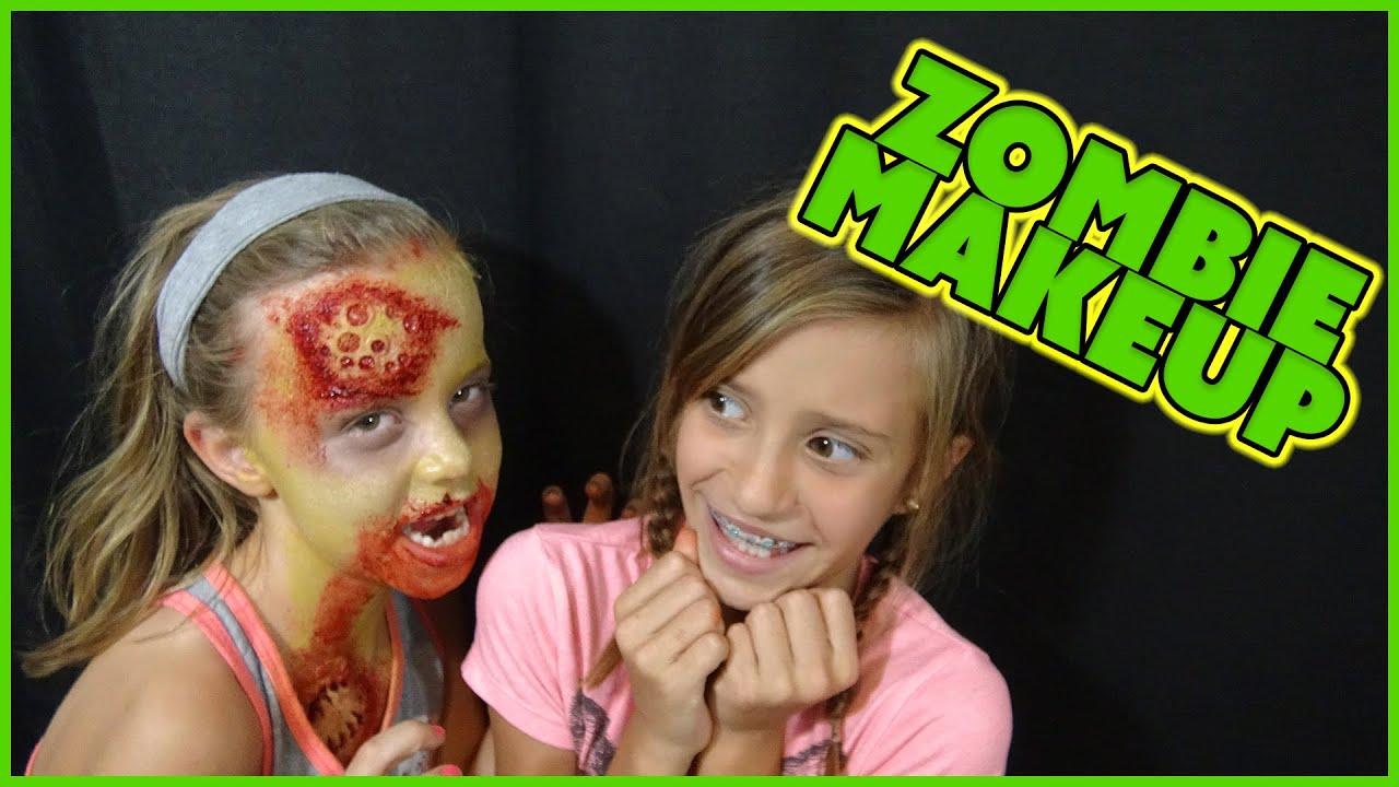 halloween makeup tutorial the walking dead zombie