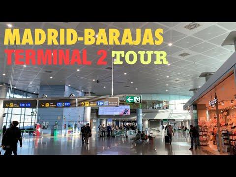 Madrid-Barajas International Airpot Terminal 2 Tour