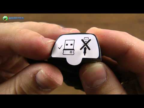 Распаковка Logitech Wireless Gamepad F710