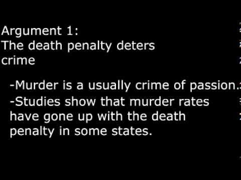 death penalty should be abolished and life in prison without parole should be the harshest form of p