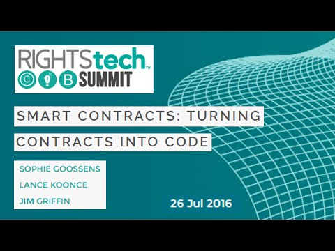 RightsTech - Smart Contracts: Turning Smart Contracts into Code