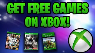 How To Get Games For Free On Xbox One!  Xbox Approved Methods!