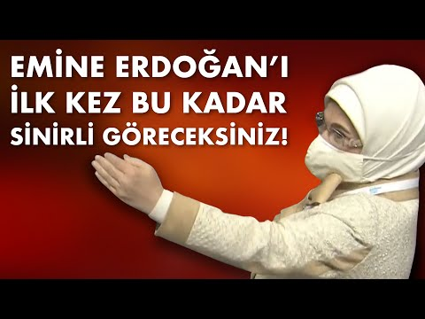 Emine Erdoğan'ı ilk kez bu kadar sinirli göreceksiniz! Gerekçesinde son derece haklı