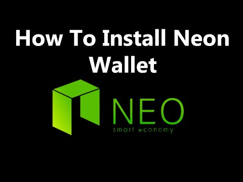 How To Install Neon Wallet | How To Install NEO / NEON Wallet | Neo Wallet