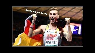 Leichtathletik-EM: Mateusz Przybylko jubelt über Gold