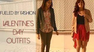 Valentines Day Outfits! Thumbnail