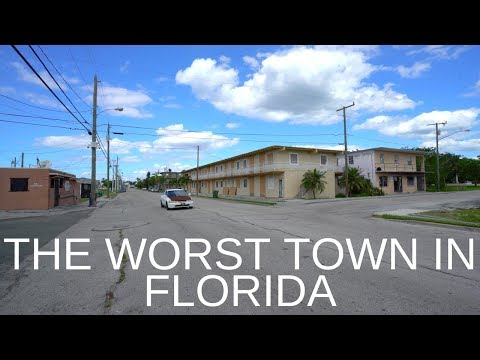 Pahokee - The Worst Town In Florida