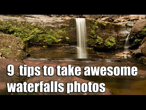 9 tips how to photograph WATERFALLS