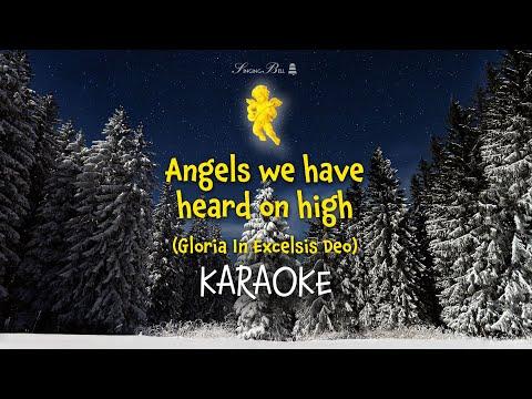 Angels We Have Heard On High   Christmas Carols Karaoke with Lyrics - YouTube