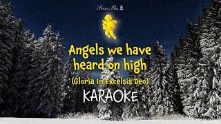 Angels We Have Heard On High   Christmas Carols Karaoke with Lyrics