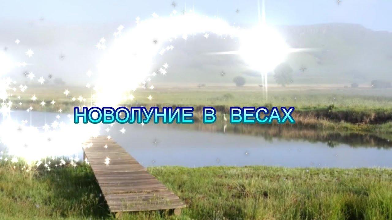 НОВОЛУНИЕ В ЗНАКЕ ВЕСЫ ♎️ – 16.10 .2020